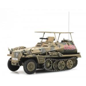 Artitec 6870277 Camion blindé WM SdKfz 250/3 Afrique - GREIF (Rommel)