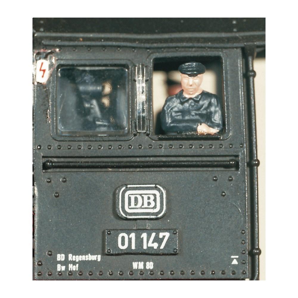 Roco 40001 Chauffeurs figurine buste de cabine