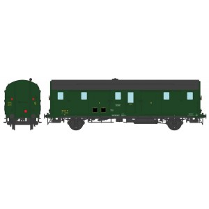 Ree Modeles VB337 Fourgon DEV 52, Porte Lanterne Ancien, SNCF, SUD-EST