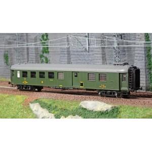 Ree Modeles VB278 Voiture voyageurs OCEM RA, PLM, 3ème classe/fourgon