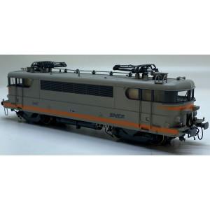 Ls Models 10219.S Locomotive électrique BB 9497 SNCF, livrée béton/orange, logo nouilles, digital sonorisée