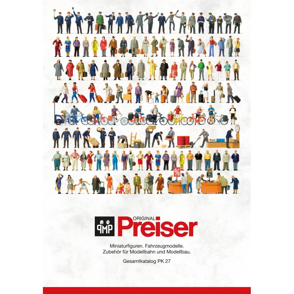 Preiser 93059 Catalogue général PK 27