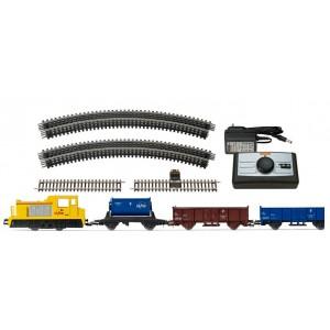 Jouef HJ1062 Coffret de départ locomotive diesel INFRA, SNCF, 3 wagons, gamme junior