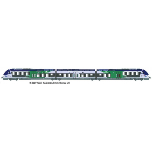 LS Models 10073S Autorail AGC X 76657, Bleu gris / Vert, Auvergne, digital sonore