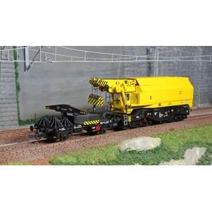 Roco 73035 Grue ferroviaire rotative numérique EDK 750, DB, digital sonore