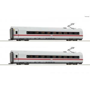 Roco 72096 Set de 2 voitures intermédiaires ICE (BR 407), 1ere et 2eme classe, DB AG