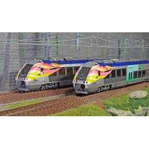 LS Models 10072 Autorail AGC X 76603, Picardie 100 ans