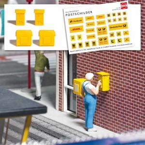 Busch 7761 Boites aux lettres et distributeurs de timbres