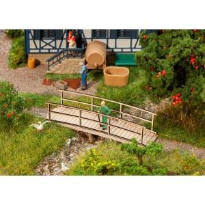Faller 180301 Maquette, Petit pont en bois