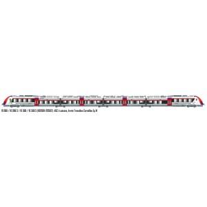 LS Models 10066S Autorail AGC B 82681, 4 caisses, livrée Transilien Carmillon, digital sonore