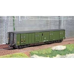 Ree Modeles VB351 Fourgon à bogies, ex-PLM, vert 306, SNCF