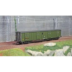 Ree Modeles VB352 Fourgon à bogies, ex-PLM, vert 306, SNCF