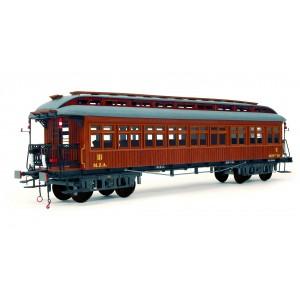 OcCre 56003 Voiture voyageurs ep.I, MZA, 1/32 kit construction bois métal