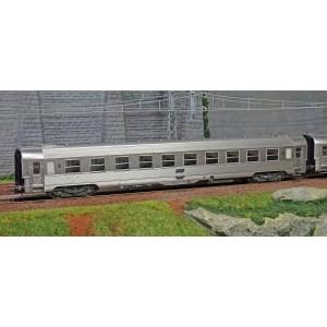 Jouef HJ4137 Set de 2 voitures voyageurs DEV Inox SNCF, B10, ep.IV