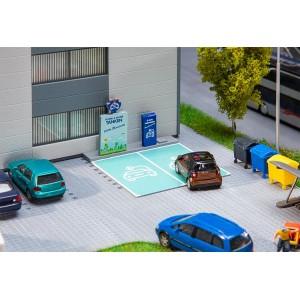 Faller 180280 Maquette, Borne de rechargement pour véhicules électriques