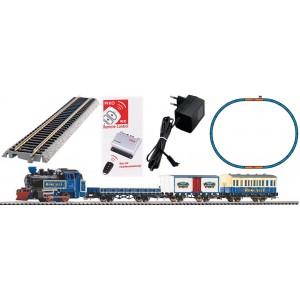 Piko 57142 Coffret de départ analogique avec locomotive vapeur cirque Roncalli et 3 wagons