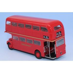 "Sai 61100 Autocar AEC Routemaster, ""London transport"", rouge"