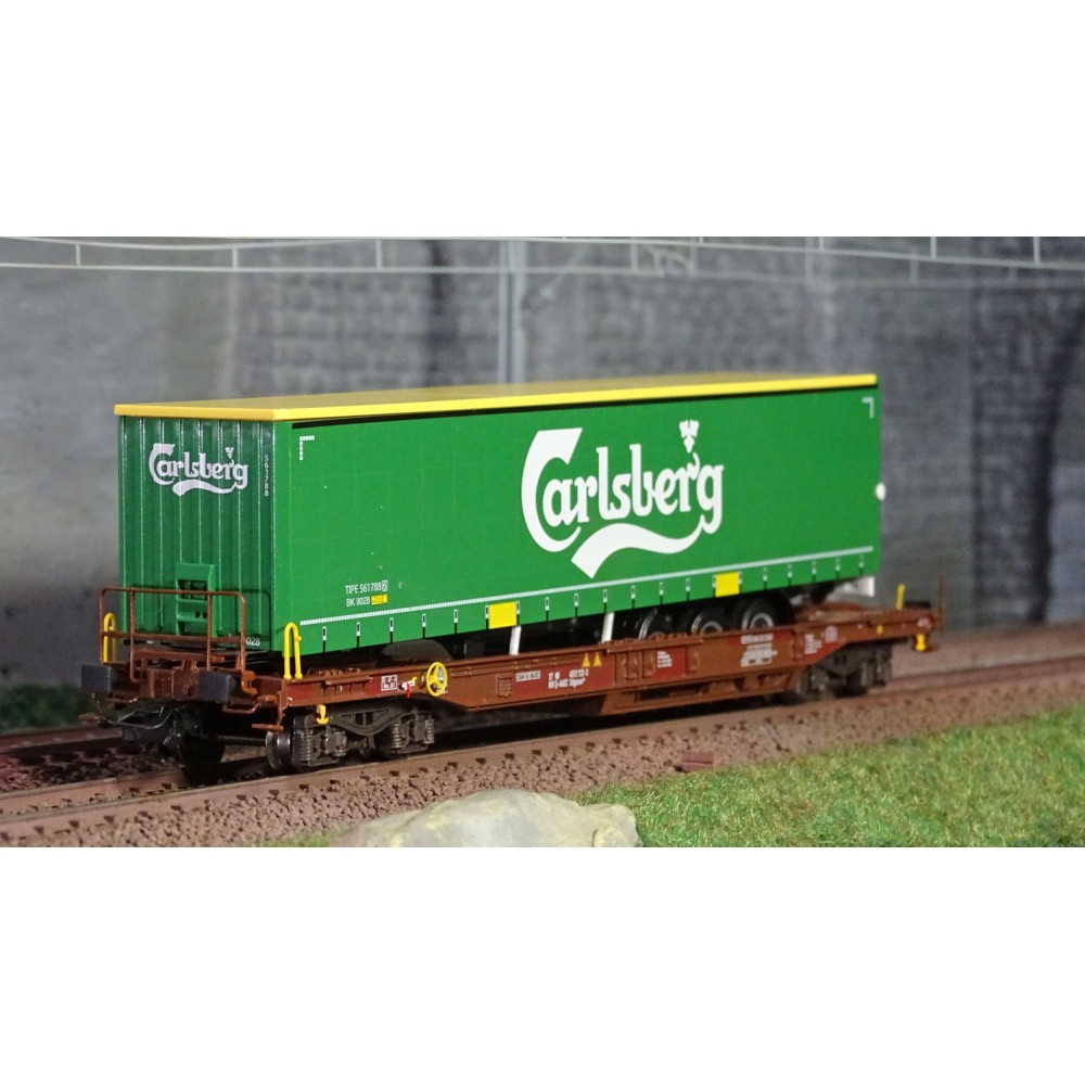 "Marklin 47112 Wagon poches ""Carlsberg"", AAE"