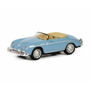 Schuco 452649800 Porsche 356 A Speedster, bleu ciel