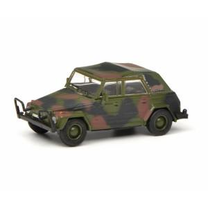 Schuco 452643000 Volkswagen Typ 181 militaire, camouflage