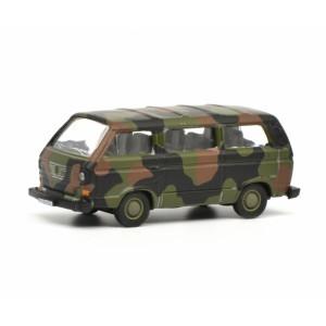 Schuco 452636600 Volkswagen Bus T3 militaire, camouflage