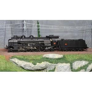 Ree Modeles MB-128 Locomotive à vapeur 5-141 E 234, SNCF, GRENOBLE