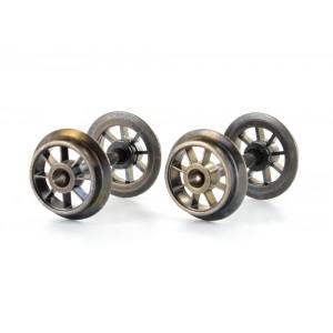 Marklin E700630 Jeu d'essieux, roues à battons, normalisé isolés 2 Rails
