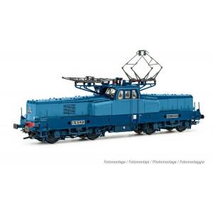 Jouef HJ2400S Locomotive electrique BB 12055, livré d'origine bleu, sans miofiltres, digitale sonore