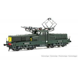 Jouef HJ2401S Locomotive électrique BB 12130, livrée vert, sans miofiltres, digitale sonore