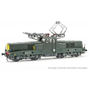 Jouef HJ2402S Locomotive électrique BB 13020, livrée vert, digitale sonore