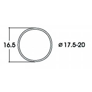 Roco 40077 Bandage d'adhérence pour locomotive 17.5 - 20.0mm x10