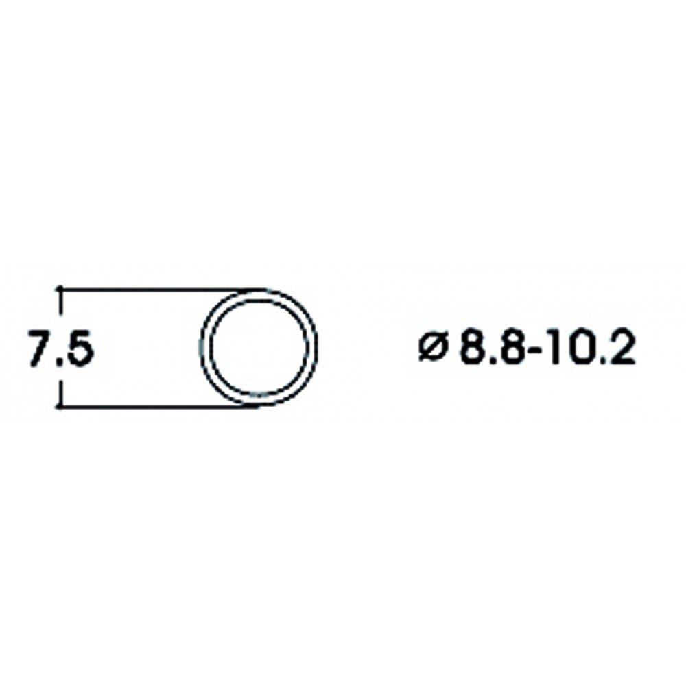 Roco 40073 Bandage d'adhérence pour locomotive 8.8 - 10.2mm x10