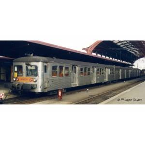 Jouef HJ4150 Set de 3 voitures voyageurs RIB 70, SNCF, livré d'origine, ep.IV