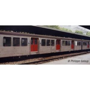 Jouef HJ4153 Voiture voyageurs complémentaire RIB 70, SNCF, livré d'origine avec portes rouges, ep.IV-V