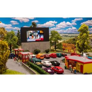 Faller 130880 Maquette, Ciné-parc en plein air