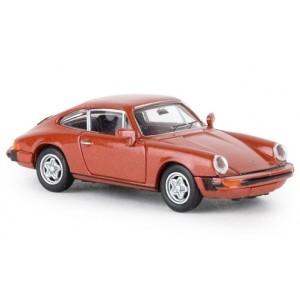 Brekina 16319 Porsche 912 G (1976), orange métallique
