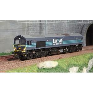 Trix 22693 Locomotive Diesel Class 66, LINEAS, digitale sonore