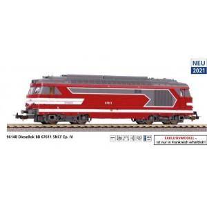 Piko 96148 Locomotive diesel BB 67611, SNCF