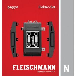 Fleischmann 919501 Set de 2 moteurs d'aiguillage et boitier de commande