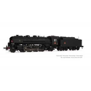 Arnold HN2481 Locomotive vapeur 141 R 1173, Mistral, SNCF, roues boxpok, livrée noire, sonore