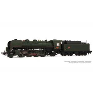 Arnold HN2482S Locomotive vapeur 141 R 1187, SNCF, roues boxpok, livrée verte, sonore