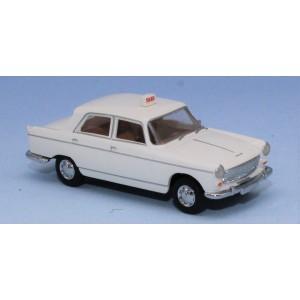 SAI 2330 Peugeot 404, blanche TAXI