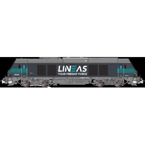 OsCar OS7501DCCS Locomotive diesel  BB 75110, LINEAS, digitale sonore