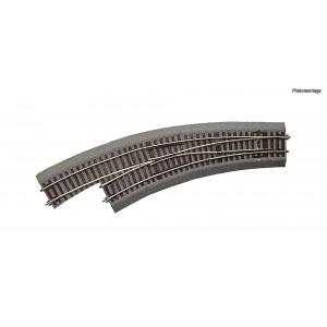 Rocoline ballast 42572 Aiguillage courbe gauche BWl3/4