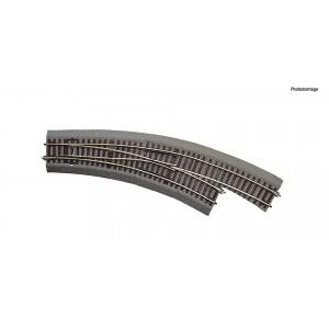 Rocoline ballast 42573 Aiguillage courbe droite BWr3/4