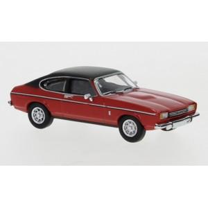 PCX 87 PCX870069 Ford Capri Mark II, rouge, toit noir mat