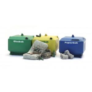Artitec 387.458 Conteneurs de recyclage de verre et de papier