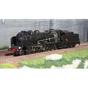 Ree Modeles MB-126.S Locomotive à vapeur 4-141 F 309, SNCF, PERIGUEUX, sonore, fumée