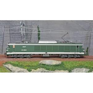 Ls Models 10325 Locomotive électrique CC 6541 SNCF, vert, Maurienne, logo Beffara