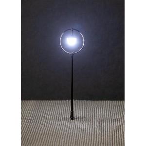 Faller 180205 Eclairage, Réverbère de parc LED, lampe boule suspendue 7.5cm, avec LED
